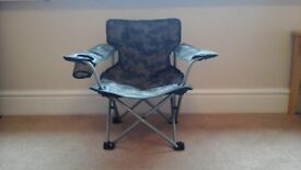 Toddlers camp chair