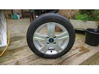 Ford fiesta zetec alloy wheel 15 inch good condition.