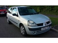 Renault Clio 1.2- LOW MILES- Long Mot- 2 Owners