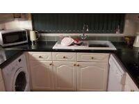 Kitchen for sale. Cooker, hob kitchen units dishwasher