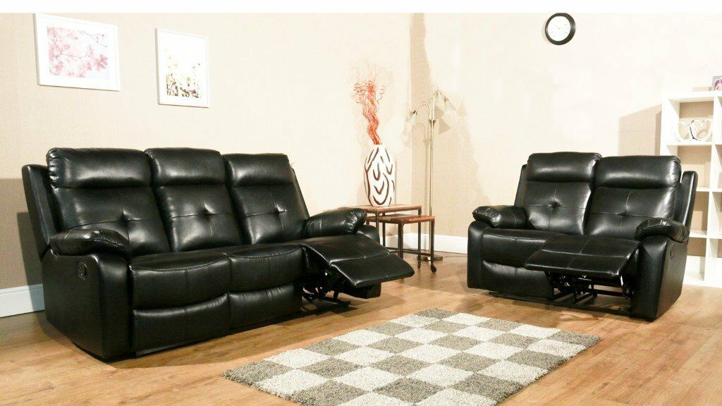 Brand New Recliner Sofa Set 3 And 2 Seater Slight Seconds Crazy Price At 375 For Both