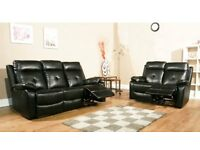 Brand New Recliner Sofa Set - 3 and 2 Seater - Slight Seconds - Crazy Price at £375 for Both