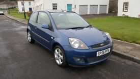 **Ford Fiesta Zetec Freedom 1.25 16v** VERY LOW MILEAGE! 1 PREVIOUS OWNER! CHEAP TO RUN!