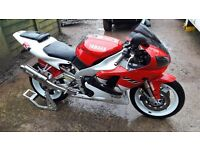 Yamaha YZF-R1 Red/White