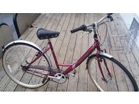 Raleigh CAPRICE Womens Town / Retro Traditional Bike, FULLY SERVICED
