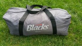 Blacks sky tent all in bag and good condition! Can deliver or post!