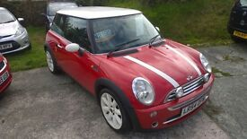 mini cooper 2004-54 reg , 1600cc, 110,000 miles, full service history, new mot upon purchase