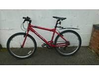 "Carrera subway Ltd mens hybrid mountain bike 18"""
