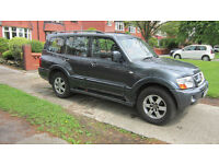 Mitsubishi Shogun 5 Door, 2006, 137800miles, long MOT