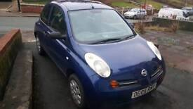 Nissan Micra E 2005 Good Runner