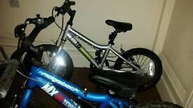"2 x Ridgeback 16"" bikes."