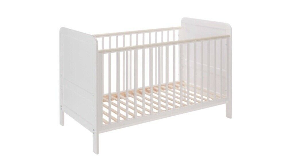 Alex white cotbed/toddler bed, John Lewis | in Sunbury-on ...