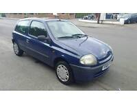 Renault clio 1.2 with long mot