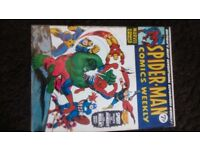 Spiderman, Hulk, Dracula, Planet of the Apes, The Avengers and Superman comics