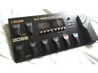boss gt 100 multi effects processor