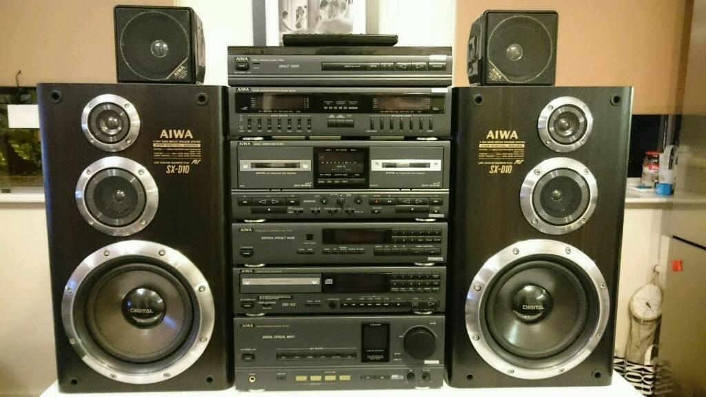 Aiwa X D1000 Hifi Retro System Separates Top Model In