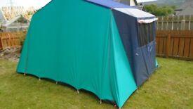 lichfield valencia canvus tent 4 berth