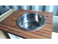 *****FRANKE designer round stainless steel basin sink*****