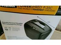 Fellowes powershred RRP £29.99 brand new
