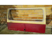 vw camper bus rear hatch 67 onwards