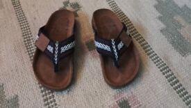 Boys size 11 summer sandals Next
