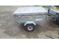 Erde 121 tipper trailer in good condition