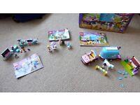 LEGO FRIENDS 3 SETS