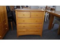 Julian Bowen Kendal 3+2 Drawer Chest Can Deliver