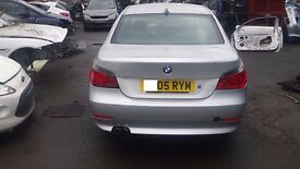 BMW 5 SERIES 2005 rear bumper