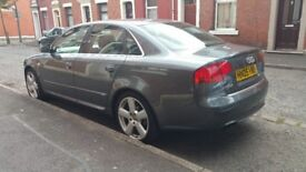 Audi a4 sline low mileage clean inside and outside cat d any more information ring me