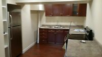 New west end basement suite. All utilities included