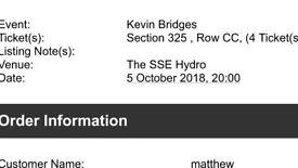 Kevin Bridges sold out tour