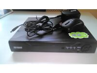 TW Vision H.264 Video Compression DVR 4 channel 720P Hdmi output with 500GB Hard Drive fitted