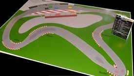 Waddington's Formula One - Extra Track - Sileby Meadows - Poster print