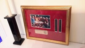 England framed photo