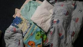 Cot duvet covers sheets pillow cases