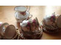 Tea set Royal Albert