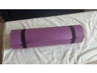 Free purple mat