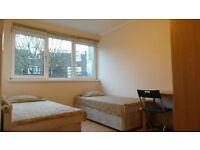 Bargain Twin Room in East London