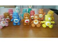 Vintage 13 care bears and cloud 9 car