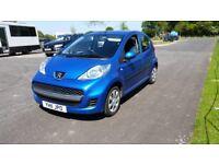 peugeot 107 2011 blue 5dr £1350 ono