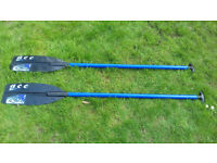 Pair of Ace canoe paddles