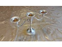 Silver Plated Candle stick