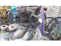 Thor Enduro Mx Trials Boots size 9