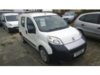 fiat fiorino active m- jet m.p.v ,2011 registration, 1300 cc turbo diesel , 112,000 miles ,new mot