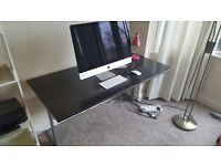 Ikea desk in good condition. Free delivery available 140cm x 72cm