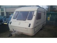 Elddis Hurricane, 2 Berth, End Bathroom good condition caravan