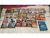 Chris Ryan books - various