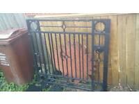 Victorian iron gate