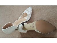 Bridal shoes - ivory color, brand new, never used